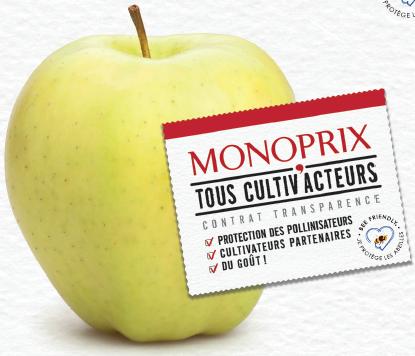 00dbc4299ef La gamme Tous cultiv acteurs est disponible dans les filières fruits et  légumes du supermarché Monoprix depuis le 8 février dernier.